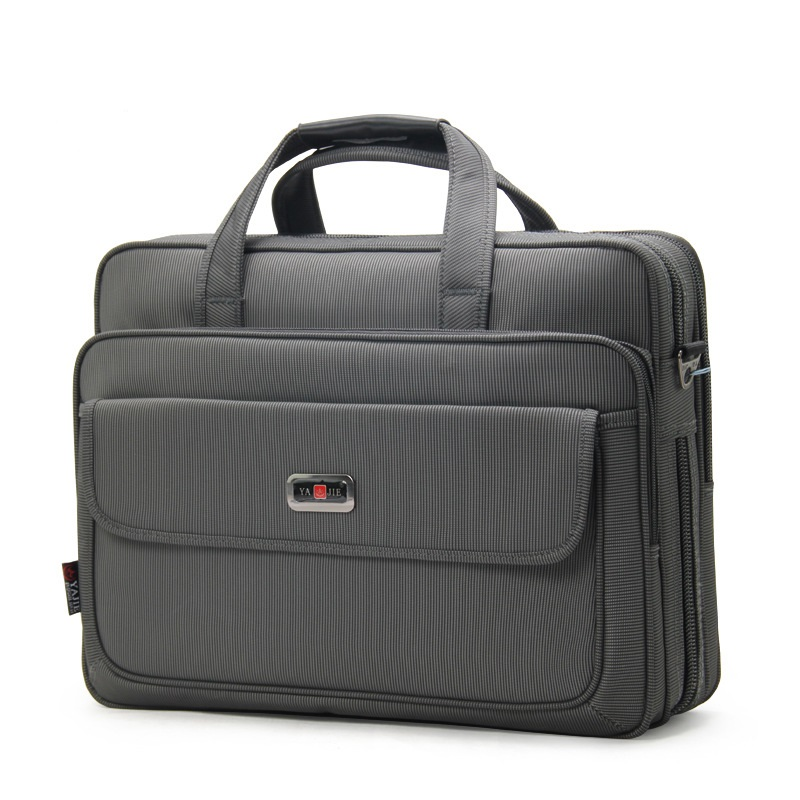 3284 New Fashion Large Capacity Computer Bag Oxford Cloth Waterproof Shoulder Bag Trip Business Handbag Men's Oxford Briefcase