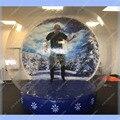 НА Продажу Хороший Надувной Шар Снега, На Складе Рождество Фото Снежный Шар Товарного Качества, Бесплатная Доставка, Быстрая доставка