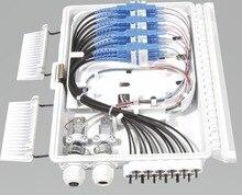 FTTH 12 çekirdek fiber Sonlandırma Kutusu 12 port 12 kanal Splitter Kutusu kapalı açık fiber Bölücü Kutusu ABS