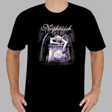 New Nightwish - Once Symphonic Metal Band Men s Black T-Shirt Size S to  3XLHip Hop Short Sleeve faa279939c8