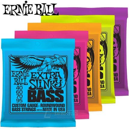 Ernie Ball Slinky Nickel Wound Bass Guitar Strings, High Quality 2835 2832 2834 2831