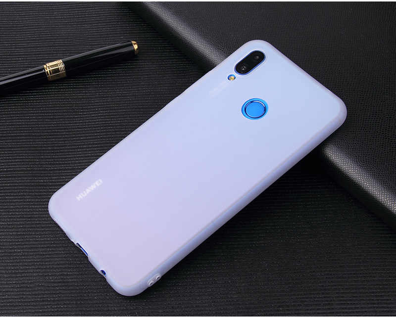 Candy Color Case for Huawei Y9 2019 Y6 Y5 Prime 2018 P30 P20 P9 P10 Mate 10 Lite Honor 10 9 Lite 7C 7A Pro 8X 8C P Smart Cases