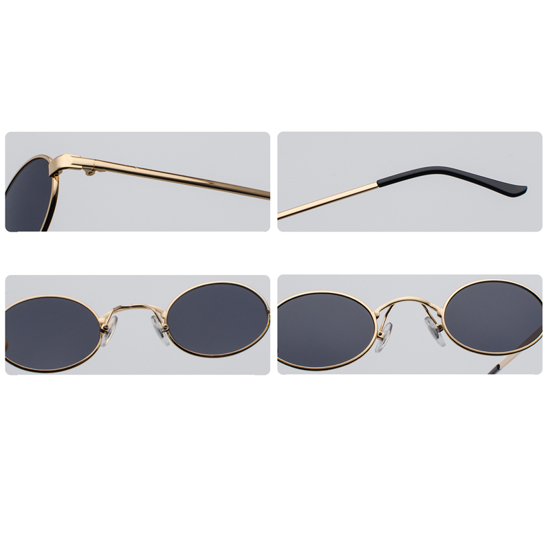 Tiny Oval Sunglasses Men detail (13)