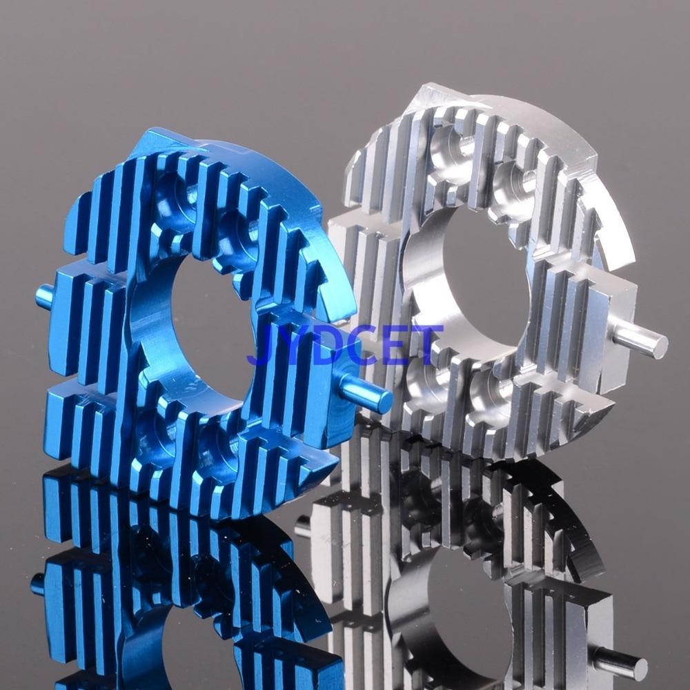 CC018 aluminio del disipador de calor del Motor placa de montaje para RC 1/10 TAMIYA CC01 CC-01