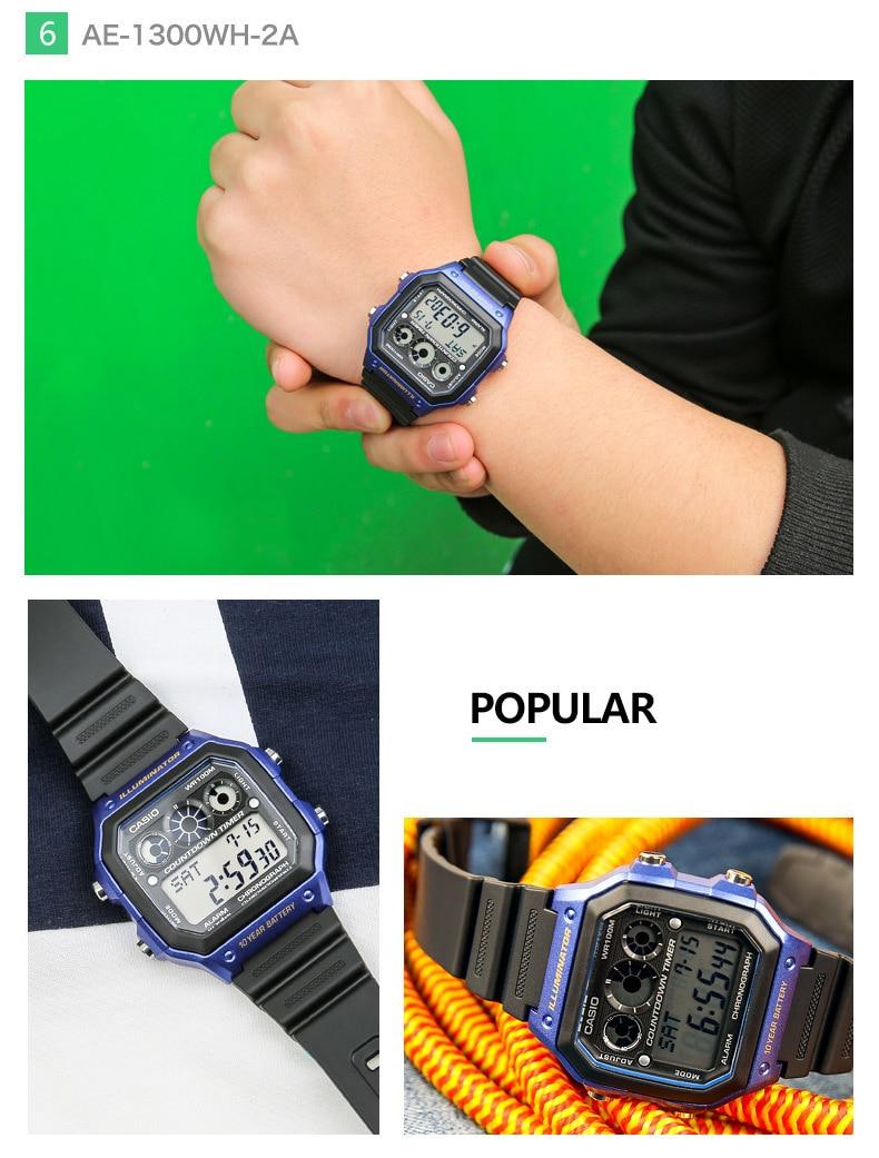 66806744c38 Casio Relógios top marca de luxo Homens Esportes AE 1200WHD 1A ...