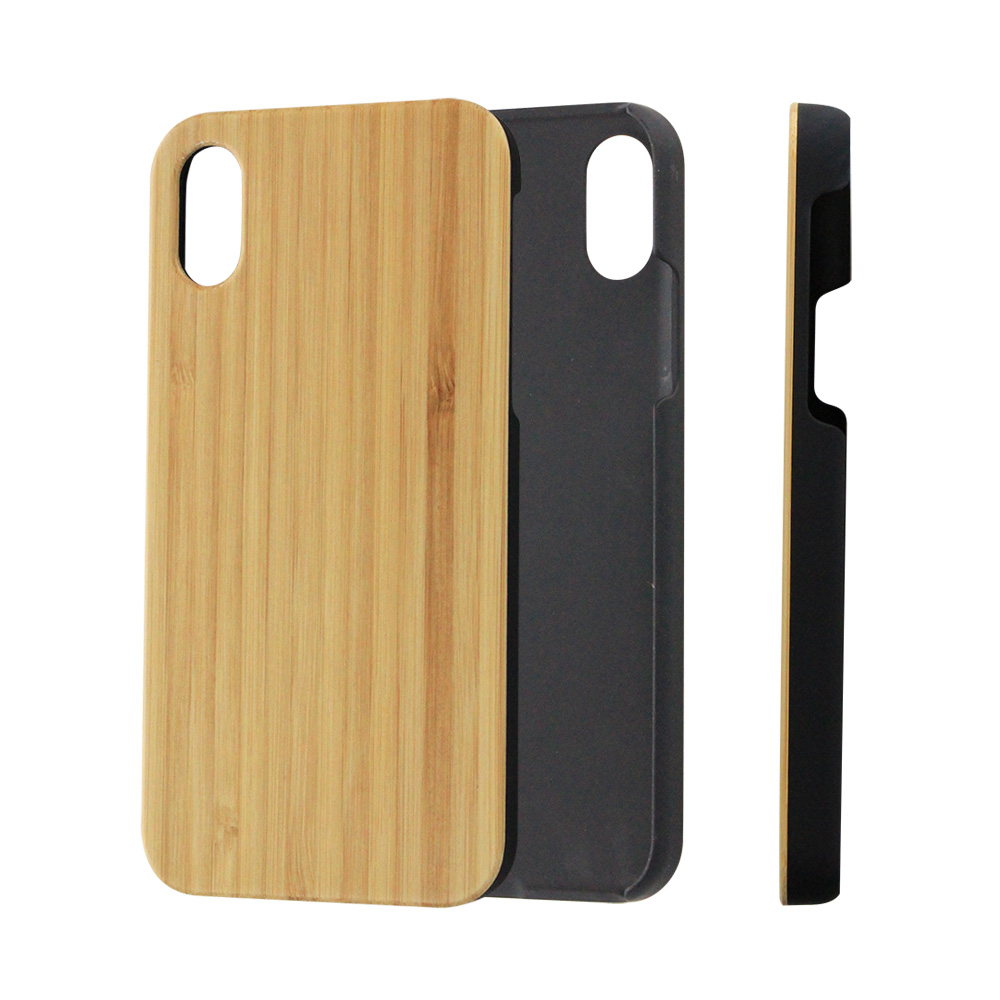 2018 Hot Gift Wooden Phone Case 7 8 X 5.8 inch Natural Wood&PC Laser Print Pattern Coque Funda Shell Cover For iPhone 7 8 PLUS X