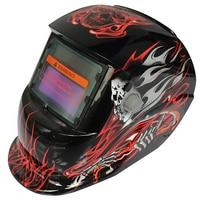 Hell Messenger Adjust Solar Auto Darkening TIG MIG Grinding Welding Helmets Face Mask Electric Welding Mask