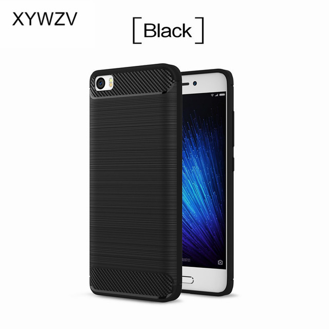 For Xiaomi Mi 5 Case Cover Shockproof Luxury Soft Rubber Phone Case For Xiaomi Mi 5 Silicone Cover For Xiaomi Mi 5 Shell Fundas