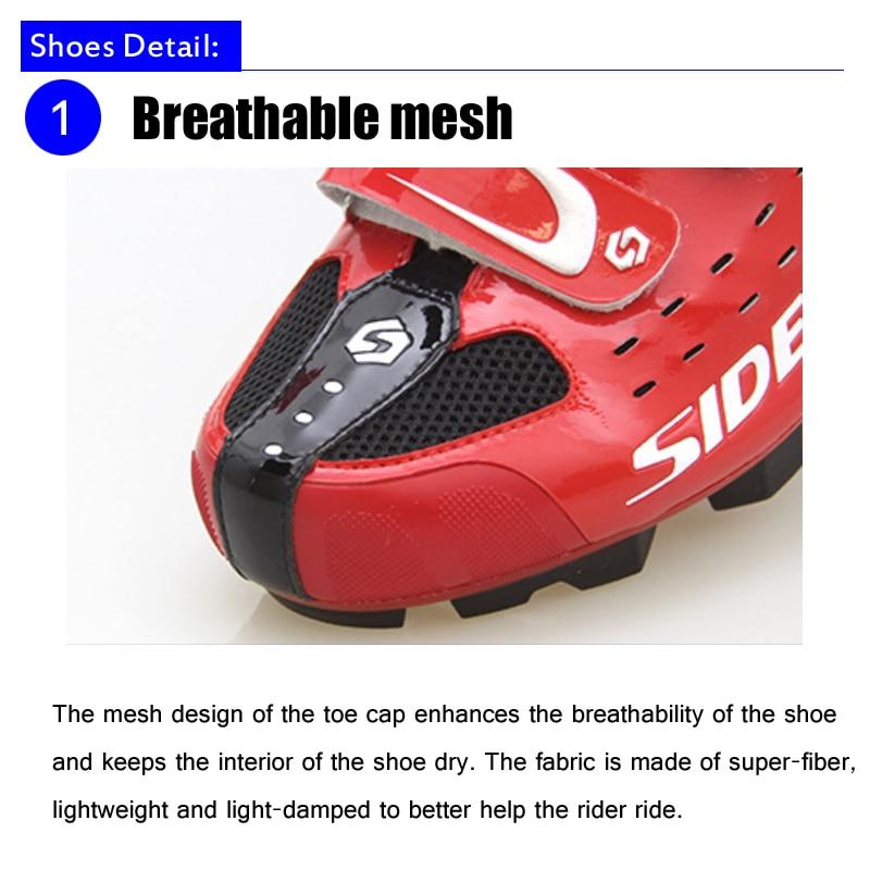 Sidebike ciclismo sapatos de ciclismo mtb das