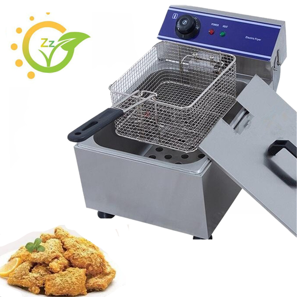 Mini Home Use Stainless Steel Electric Multifunctional Deep Fryer for chicken potato french fries grill frying  pan Healthy 2 6l air fryer without large capacity electric frying pan frying pan machine fries chicken wings intelligent deep electric fryer