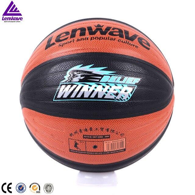 PU Basket 7 Indoor outdoor Sport Formazione Ball Gratis Con Sacchetto netto e palla Ago 2016 Nuovo di Zecca Lenwave Cestino palla