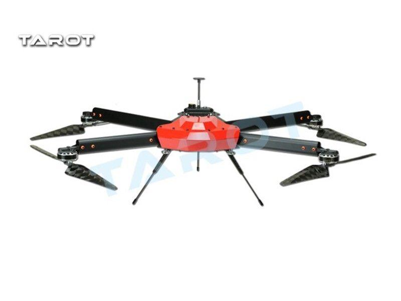 Tarot Multicopter Peeper I Drone Arms Tube 750MM Drone FPV Folding Carbon Fiber Propeller Long Flight Time Combo TL750S1 tarot zyx m intelligent flight control gps combo pmu module for fpv multicopter