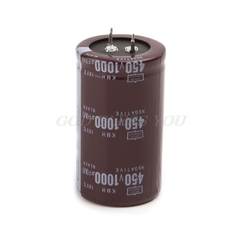 Высокочастотный 450V 1000 UF Алюминиевый объем электролитного конденсатора 35x60|Запасные части|   | АлиЭкспресс - Радиодетали