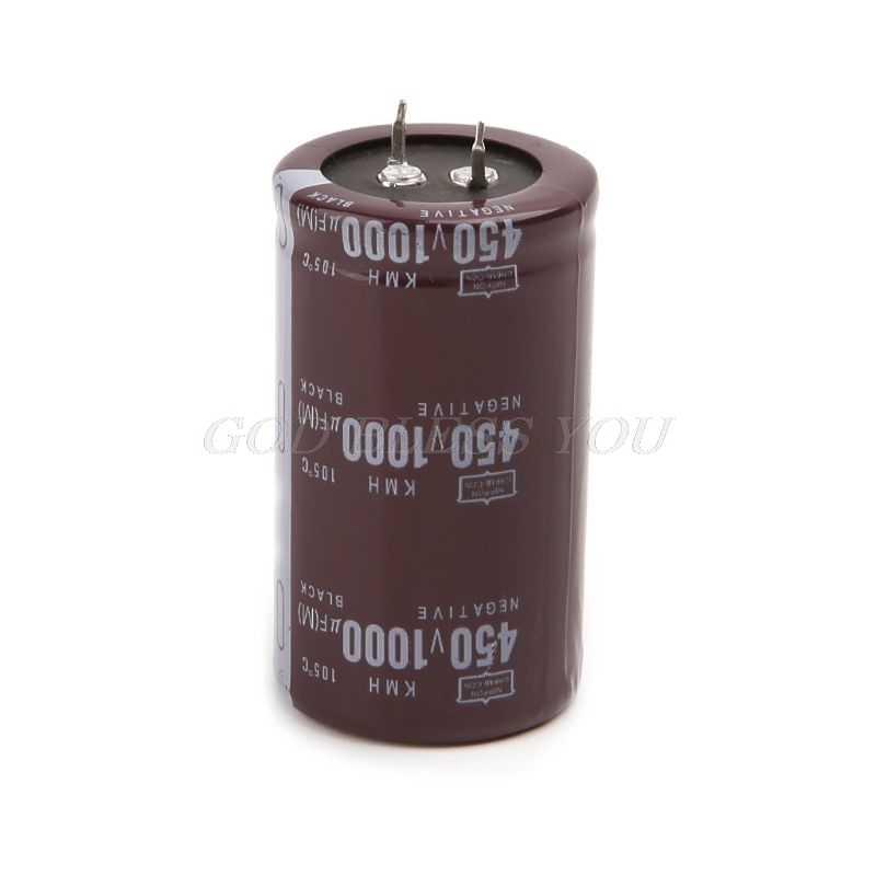 高周波 450V 1000uF アルミ電解コンデンサボリューム 35 × 60