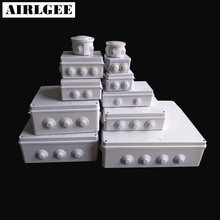 Wholesale ABS Plastic IP65 Waterproof Junction Box DIY Outdoor Electrical Connection box Cable Branch 200x100x70mm