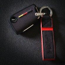 Замшевый ТПУ чехол для ключа автомобиля защитный для VW Polo Golf 7 MK7 для Skoda Octavia combi A7 для сиденья Leon Ibiza CUPTRA