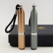 COHIBA Cool Gadgets Portable Gadgets Titanium Alloy Pocket Size Cigar Punch Cigar Cutter