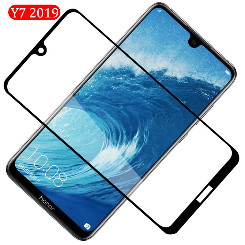 Glass On For Huawei Y7 2019 Safety Protective Glass Hauwei Huavei Y7pro 7y Y 7 Y Y7 Pro 2019 Tempered Glas Phone Front Film Trem