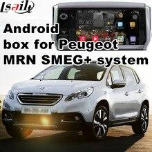 Android caja de interfaz de vídeo de navegación GPS para Peugeot 208 308 408 508 2008 3008 (MRN SMEG + sistema) con el elenco de la pantalla