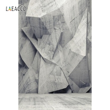 Laeacco 3D Effect Wall Floor Photo Backdrop Portrait Photography Backgrounds Customized Photographic Backdrops For Studio