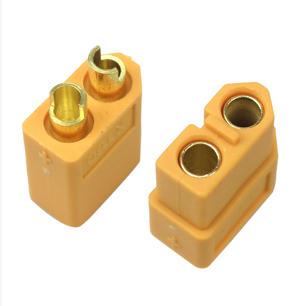 цена на 20Pcs XT60 XT-60 Male Female Bullet Connectors Plugs For RC Lipo Battery (10pair) Wholesale
