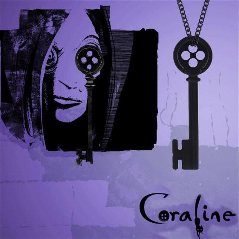 Movie Coraline The Secret Door Cosplay Props Costume Props Metal Necklace Costume Props Aliexpress