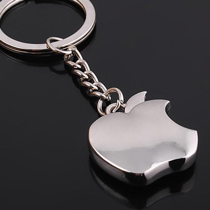 HTB1rBIUKVXXXXc2XVXXq6xXFXXXw - New arrival Novelty Souvenir Metal Apple Key Chain Creative Gifts Apple Keychain Key Ring Trinket car key ring car key ring