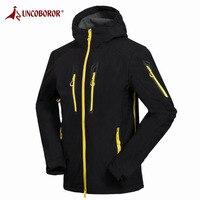 UNCO BOROR Softshell Jacket Men S Hiking Jackets Male Waterproof Windproof Outdoor Camping Climbing Trekking Coat