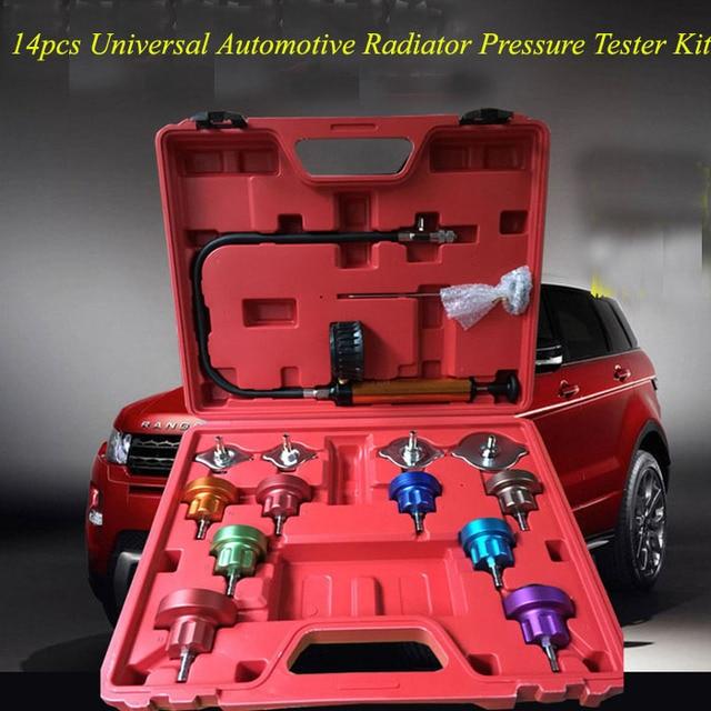 Universal Automotive 14pcs Radiator Pressure Cooling System Leak