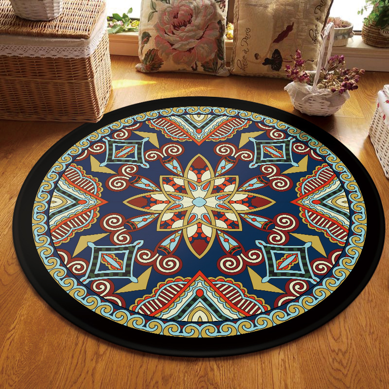 Incredible Best Offer Turkish Style Round Carpet Computer Chair Round Creativecarmelina Interior Chair Design Creativecarmelinacom