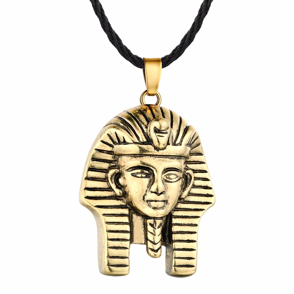 HTB1rBIlSXXXXXbzXVXXq6xXFXXXG - Chandler Pharaoh Pendant Necklace For Men/Women Vintage Egypt Egyptian King Classic Old Jewelry Amulet God Jewelry