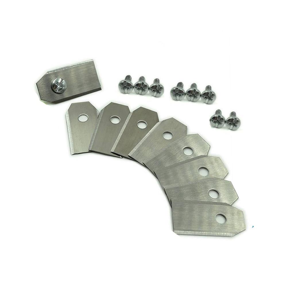 9PCS Mower Blades Replacement Spare Parts for Automower Husqvarna Gardena Blade