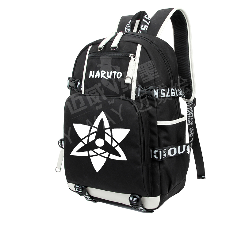 Anime Naruto Cosplay 2017 new cartoon cute male and female student canvas backpack birthday giftAnime Naruto Cosplay 2017 new cartoon cute male and female student canvas backpack birthday gift