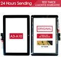 Original 10.1 polegada testado novo digitador da tela de toque de tela sensível ao toque para acer iconia tab a3-a10 a3-a11 peças tablet adesivo livre