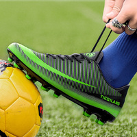 Indoor Turf Futsal Sneakers Spikes Men Soccer Shoes Cheap Original Football Sports Shoes Cleats Indoor Chaussures De Football