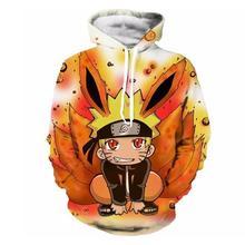 Autumn Winter Harajuku Hoodeds 3D Print Anime Kid Naruto Gool Men Hooded Sweatshirts Casual Long Sleeves Jackets Unisex Tops 5XL