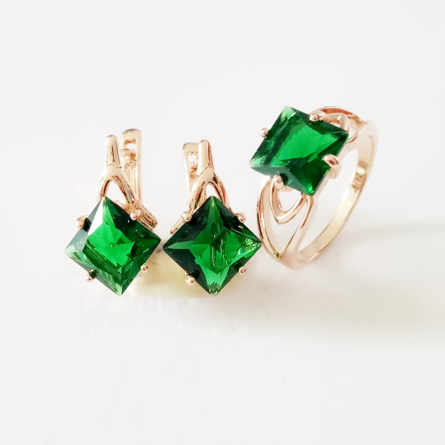 Bridal Jewelry Sets Green...