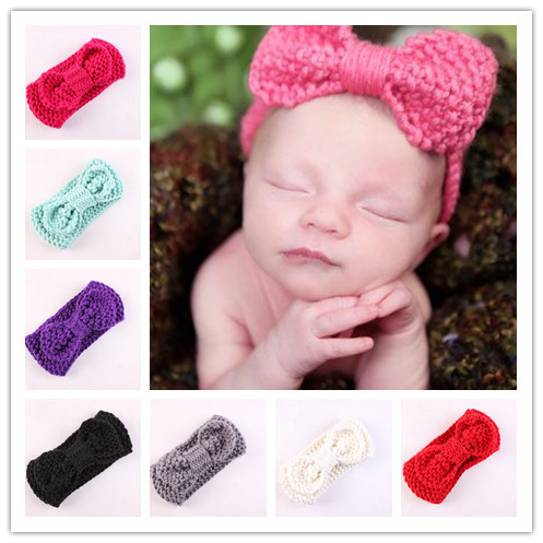 Retail New Crochet Knitted Headwrap Headband Winter Ear Warmer Hair Band  for kids Accessories Christmas Gift 367170ec076