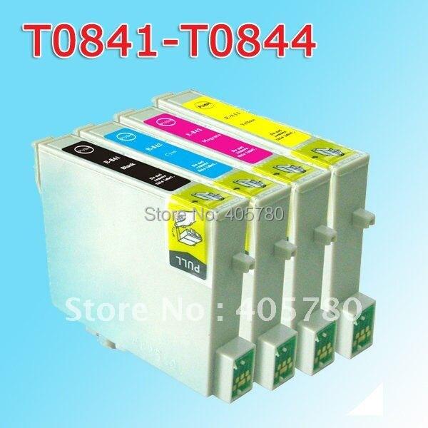 20 штук T0841/T0842/T0843/T0844 картридж совместимый для фото 20 T0481 481