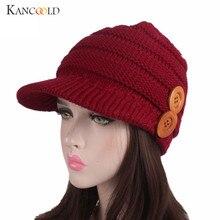 6a637cfb5eea3 Tampas de inverno chapéu viseira boinas boina casuais chapéu de tricô  gorros Turbante mujer das mulheres