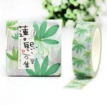 fancy office supplies. 2j316 15cm wide fancy morning leaves decorative washi tape diy scrapbooking masking school office supply supplies e