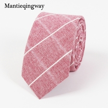 Mantieqingway Men's Plaid Suit Tie