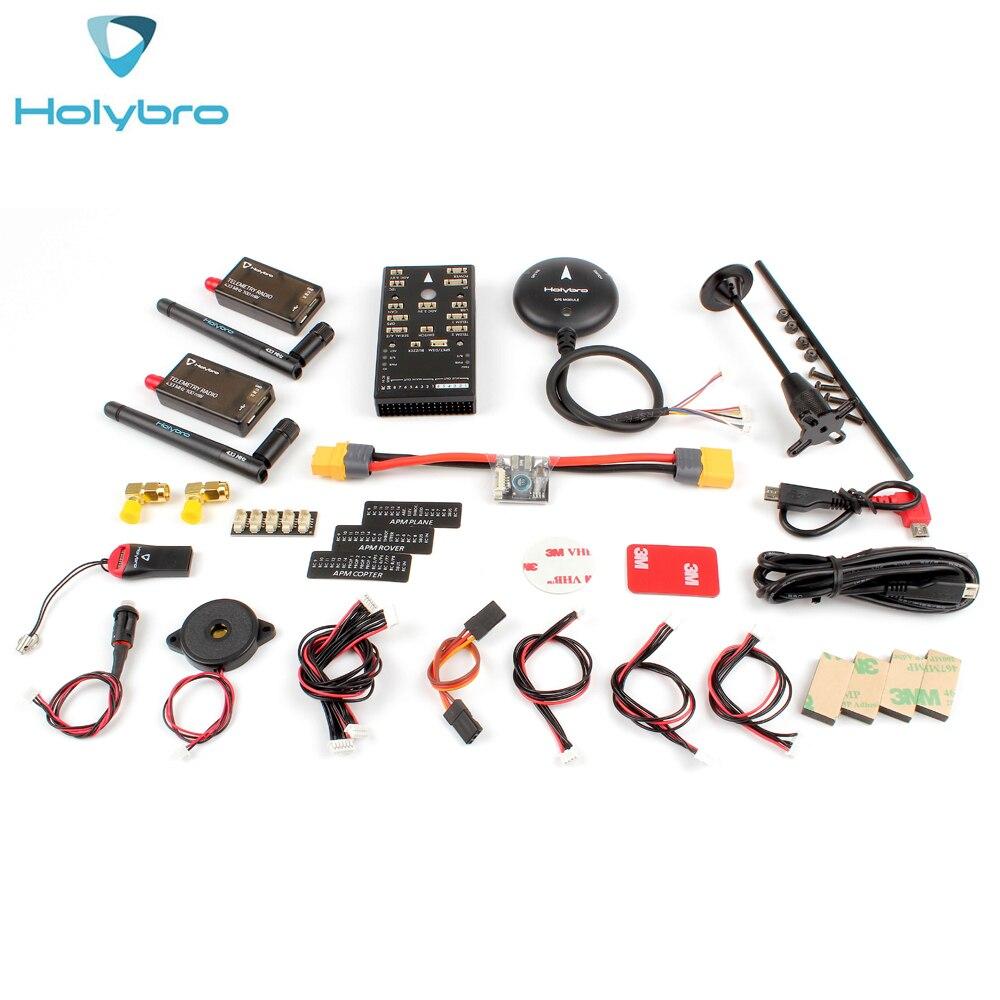 HolyBro Pix32 Pixhawk 4 Flight Controller & M8N GPS Module&P