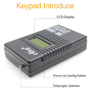 Image 2 - 50MHz 2.4GHz Portable Handheld Frequency Counter RK560 DCS CTCSS Radio Tester RK 560 Frequency Meter