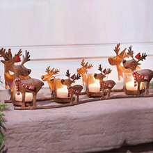 Christmas Deer Candle Holder