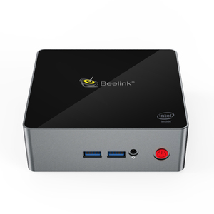 Image 1 - Beelink reproductor multimedia J34 Apollo Lake Celeron J3455, windows 10, mini Soporte para pc HDD, 8GB 256GB, windows 10, 64 bits