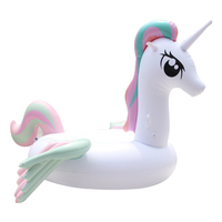 Hot Sale Pool Float Inflatable Boat Unicorn Swimming Float Adult Tube Raft Kid Swim Air Mattresses Ring Summer Water Toy
