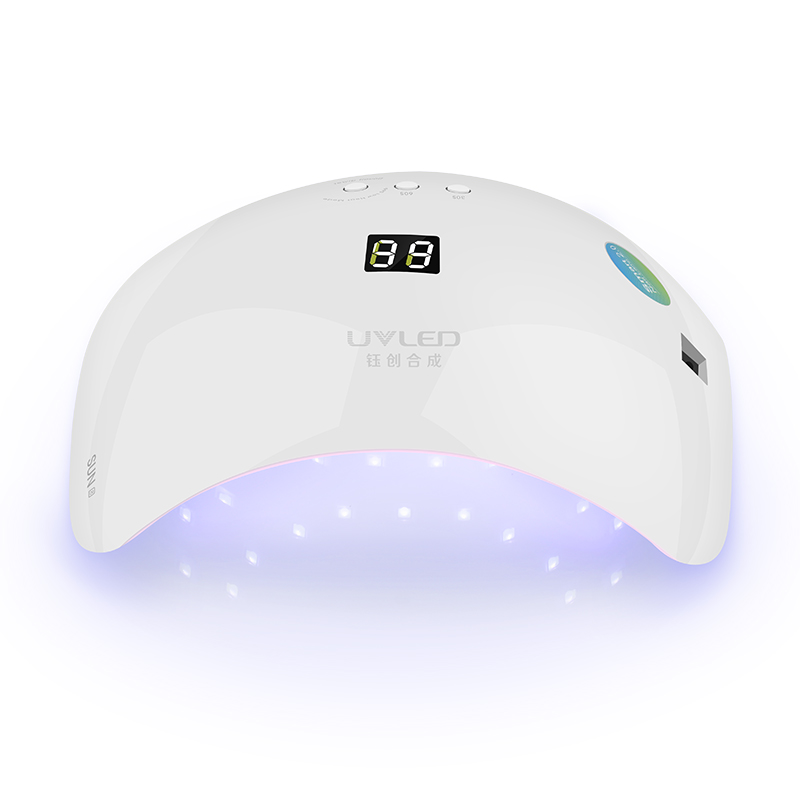 SUNUV SUN8 48W Smart Nail Lamp LED UV Nail Dryer White Light Dry For Nail Menicure Timer Memory Curing Nail Poslish Art Tools