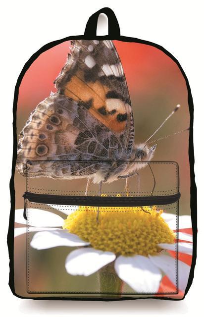 Nuevo Estilo 3D Flor de Impresión Mochilas escolares Para Las Niñas Adolescentes Diseñador Floral Mujeres Backbag Bookbag Schoolbag Niños Ocasionales Al Por Menor