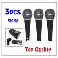 3 шт. оптовая Высокое качество SM 58LC Бесплатная доставка вокальный Караоке микрофон динамический проводной ручной микрофон SM 58